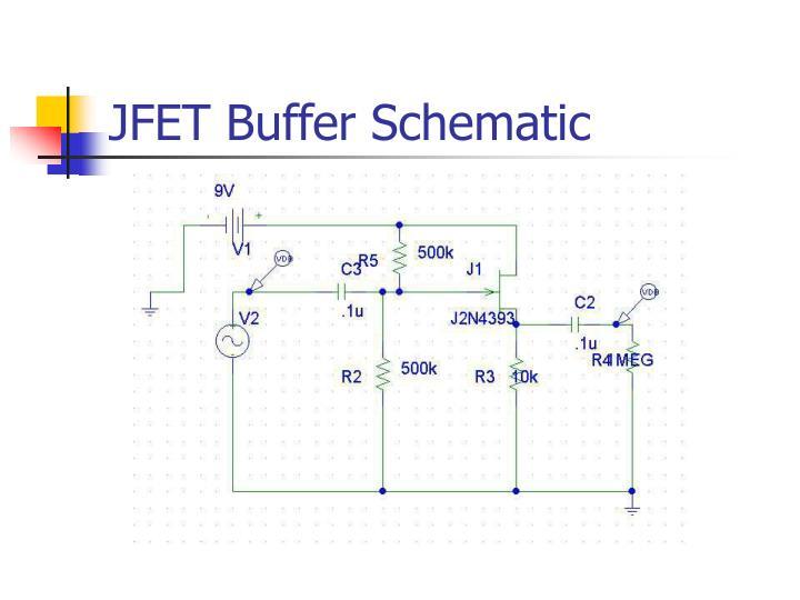 JFET Buffer Schematic