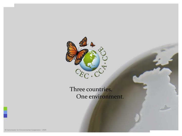 Three countries.