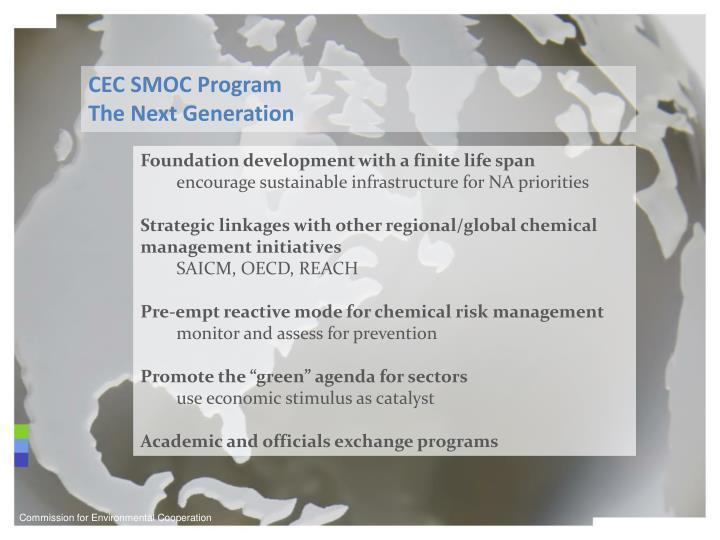 CEC SMOC Program