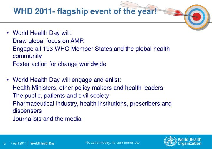 WHD 2011- flagship event of the year!