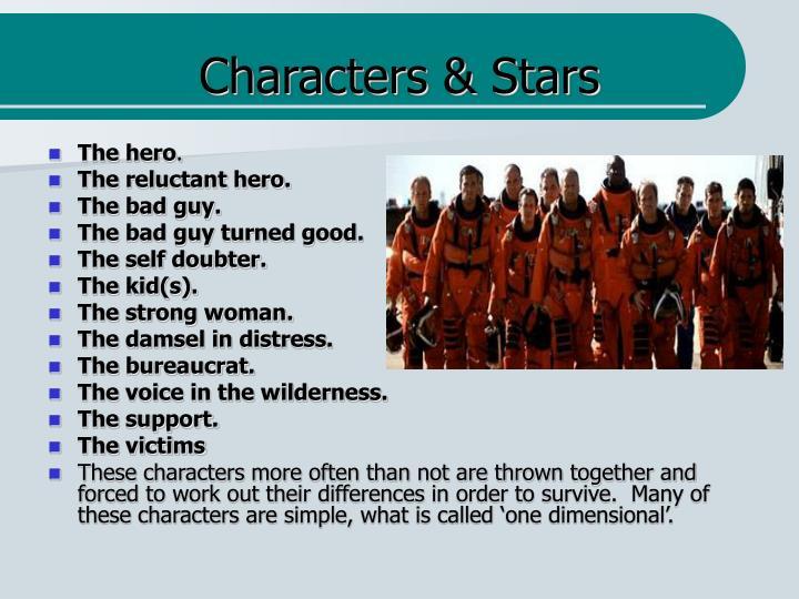 Characters & Stars