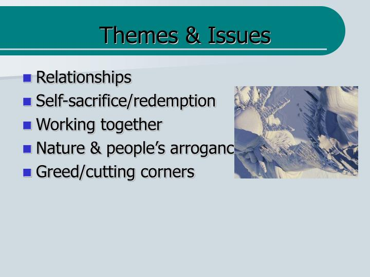 Themes & Issues