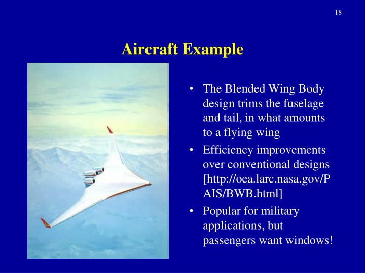 Aircraft Example