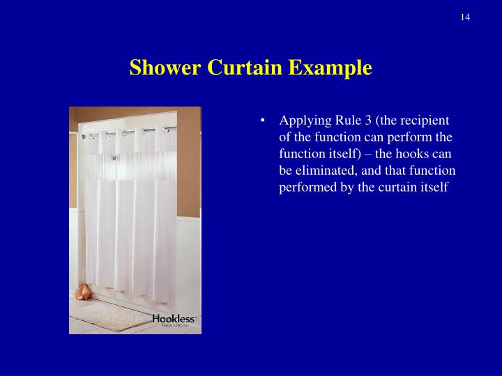 Shower Curtain Example