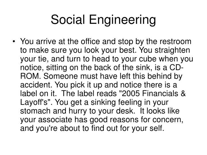 Social engineering1