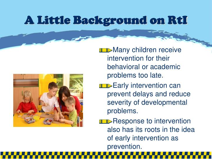 A little background on rti