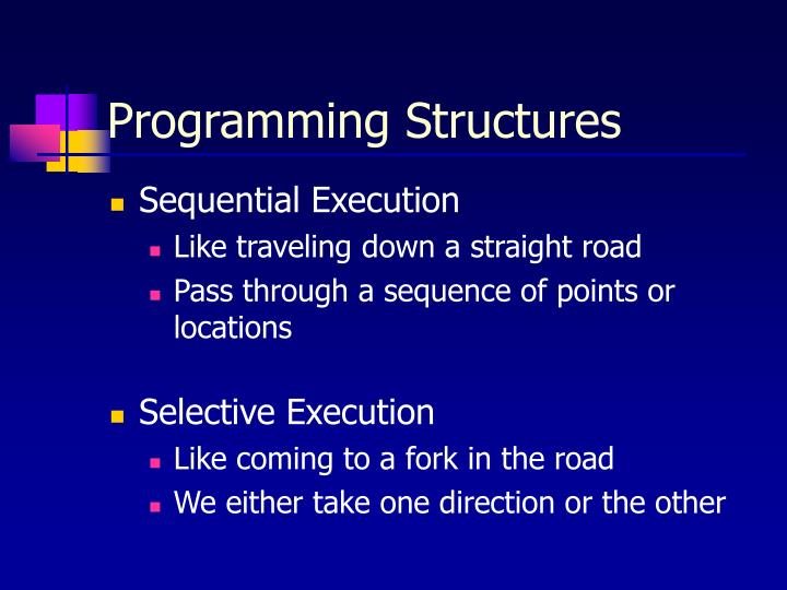 Programming Structures