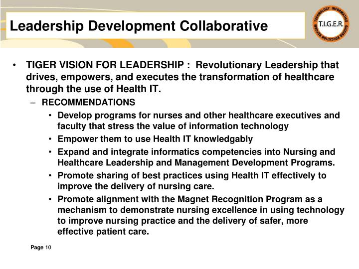 Leadership Development Collaborative