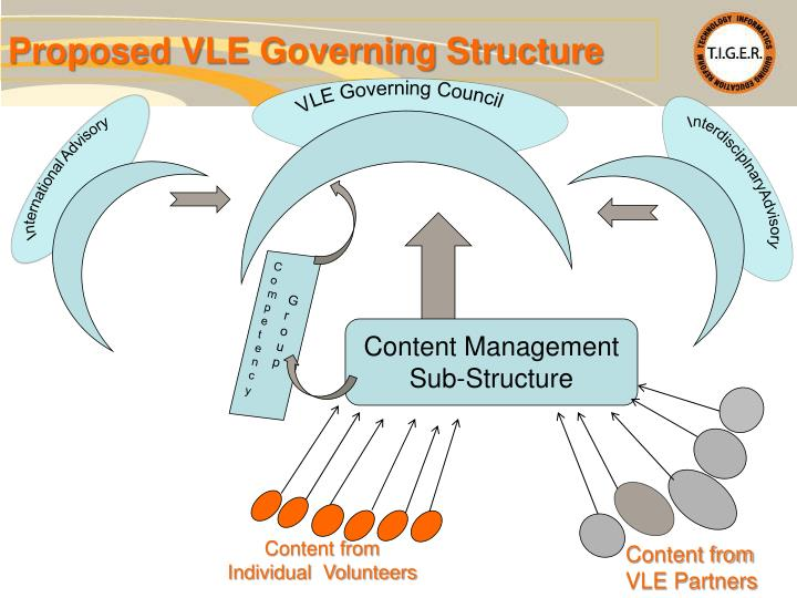 Proposed VLE Governing Structure