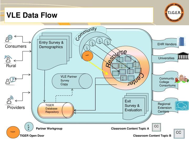 VLE Data Flow