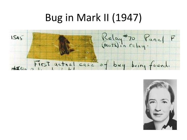 Bug in Mark II (1947)