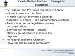 consultative bodies in european countries5