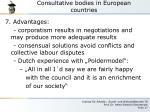 consultative bodies in european countries8