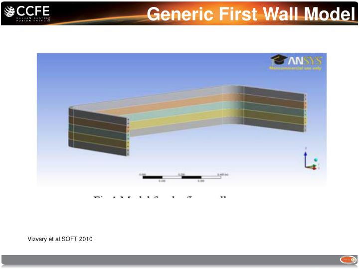 Generic First Wall Model
