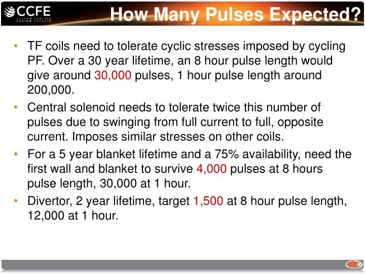 How Many Pulses Expected?