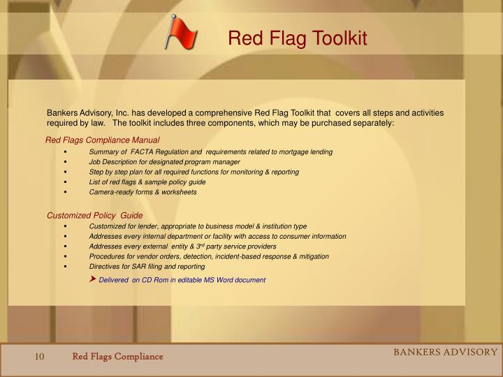 Red Flag Toolkit