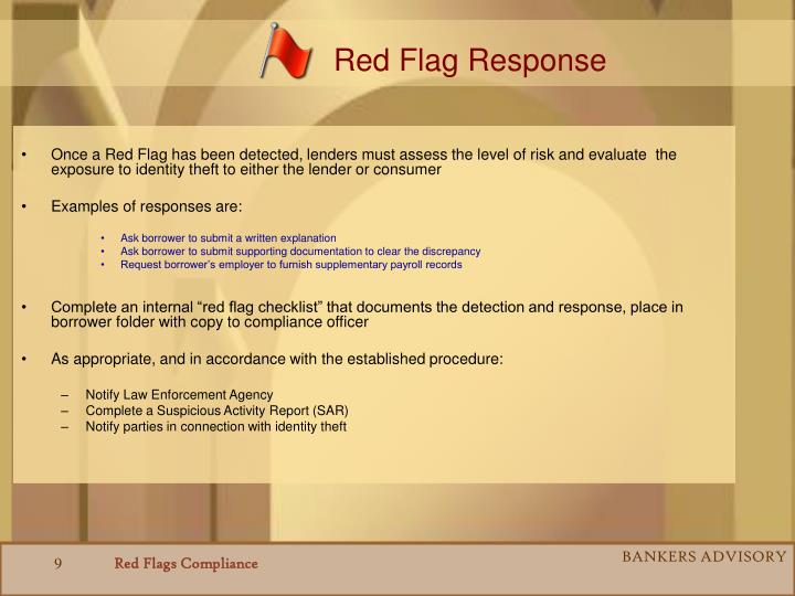 Red Flag Response