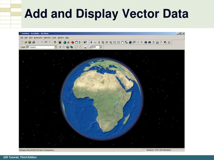 Add and Display Vector Data