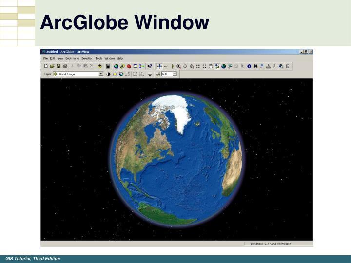 ArcGlobe Window