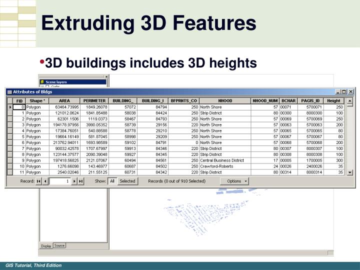 Extruding 3D Features