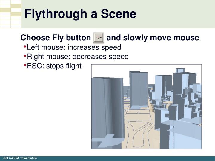 Flythrough a Scene