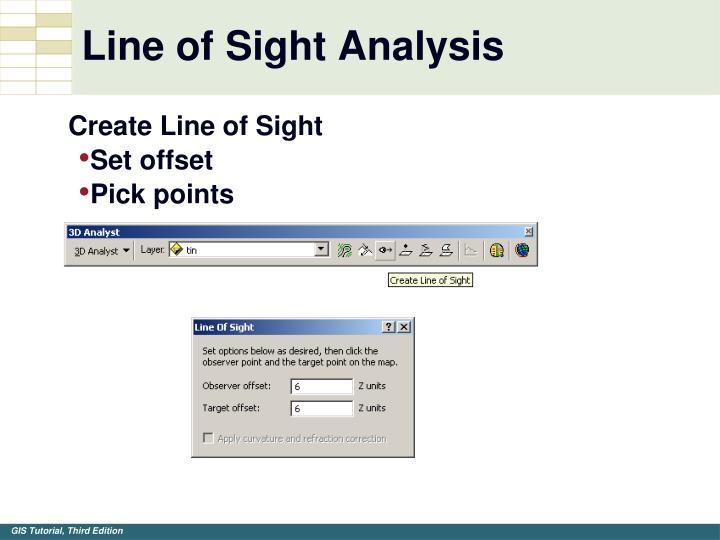 Line of Sight Analysis