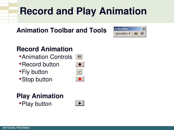 Record and Play Animation