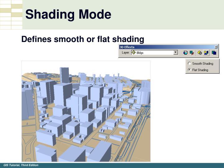 Shading Mode
