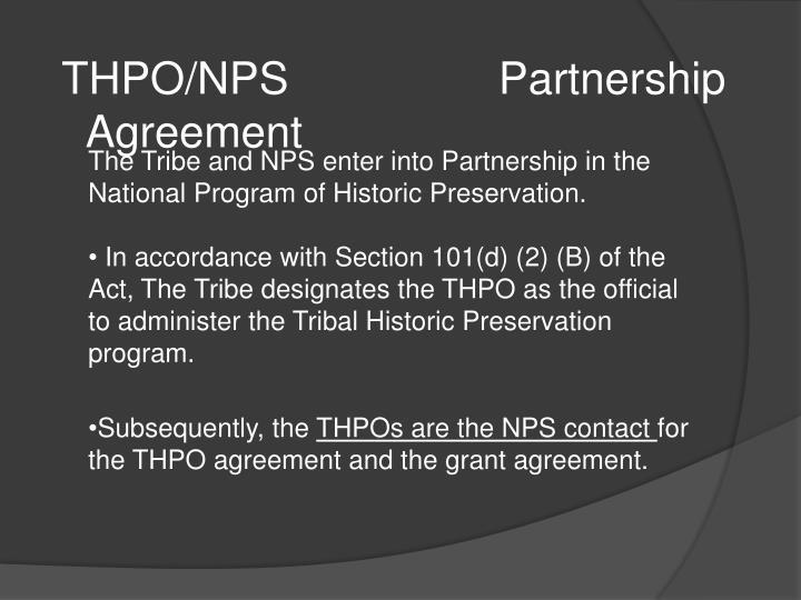 THPO/NPS