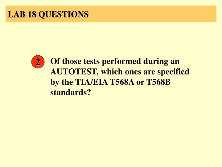 LAB 18 QUESTIONS