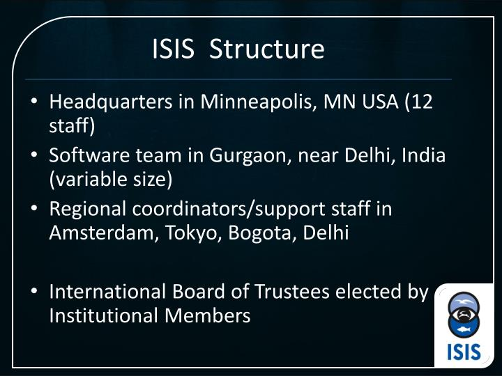 ISIS  Structure