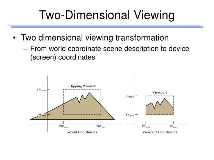 Two dimensional viewing1