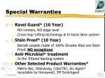 special warranties1