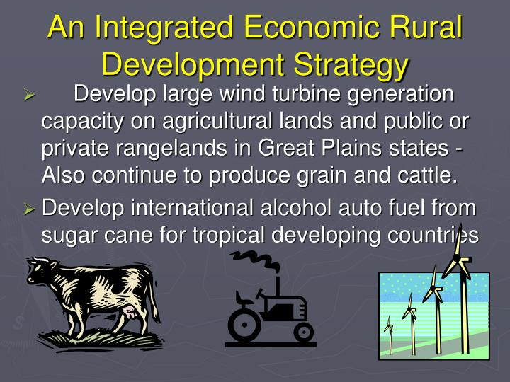 An Integrated Economic Rural Development Strategy