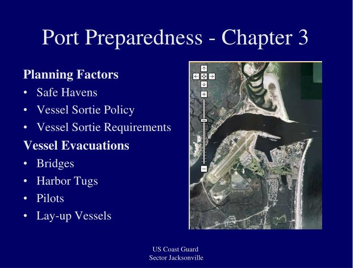 Port Preparedness - Chapter 3