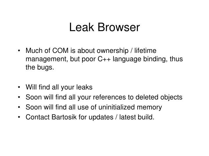 Leak Browser