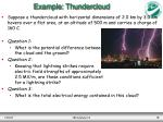 example thundercloud