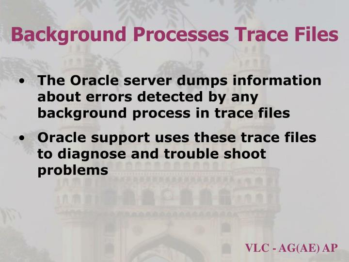 Background Processes Trace Files