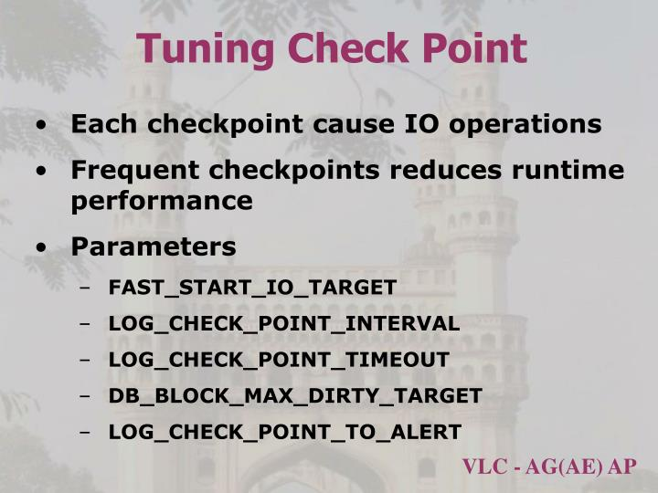 Tuning Check Point