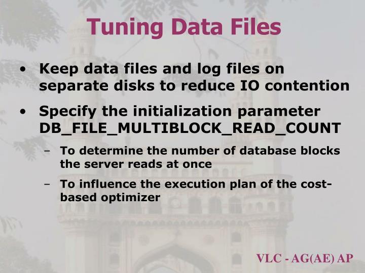 Tuning Data Files