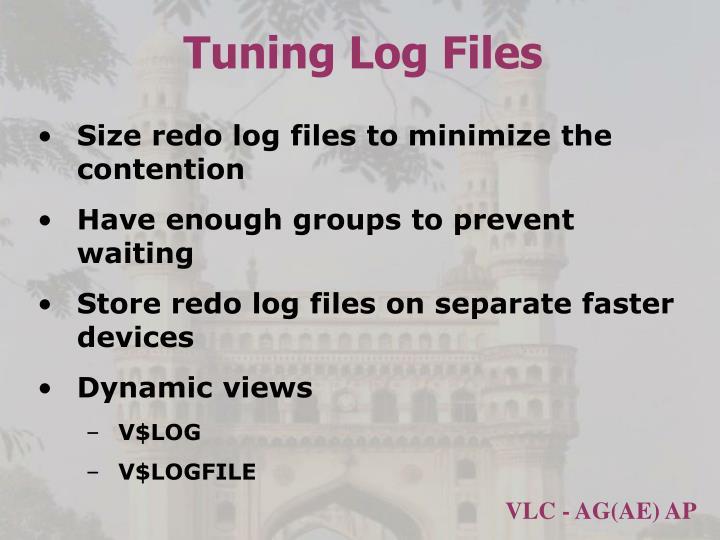 Tuning Log Files