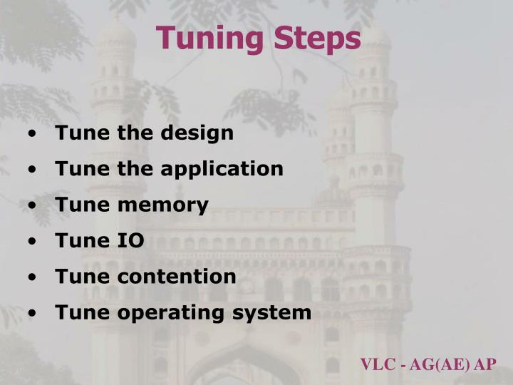 Tuning Steps