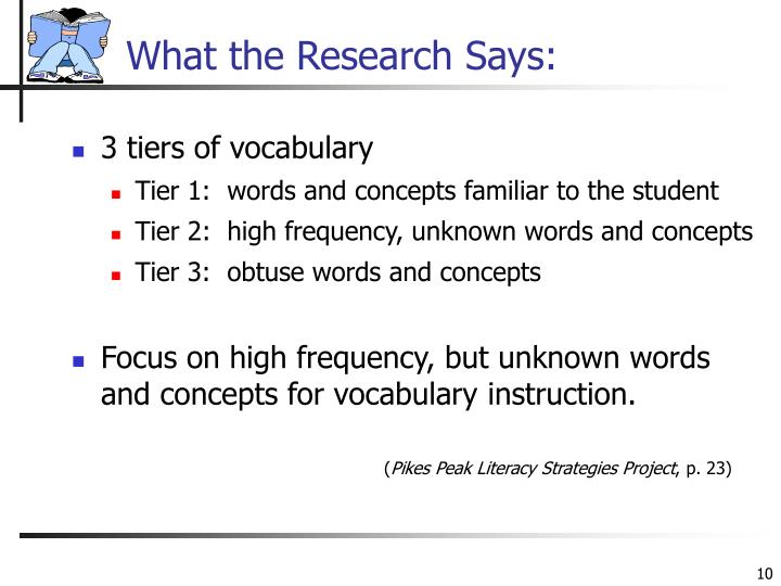 What the Research Says:
