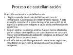proceso de castellanizaci n