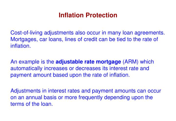 Inflation Protection