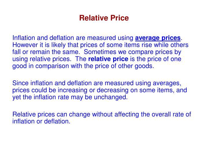 Relative Price
