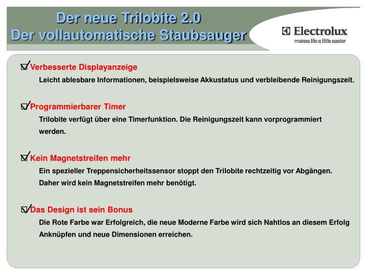 Der neue trilobite 2 0 der vollautomatische staubsauger