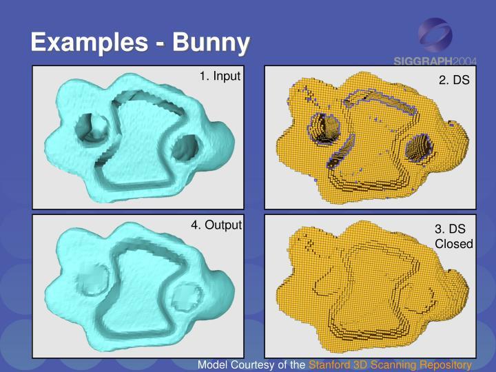 Examples - Bunny