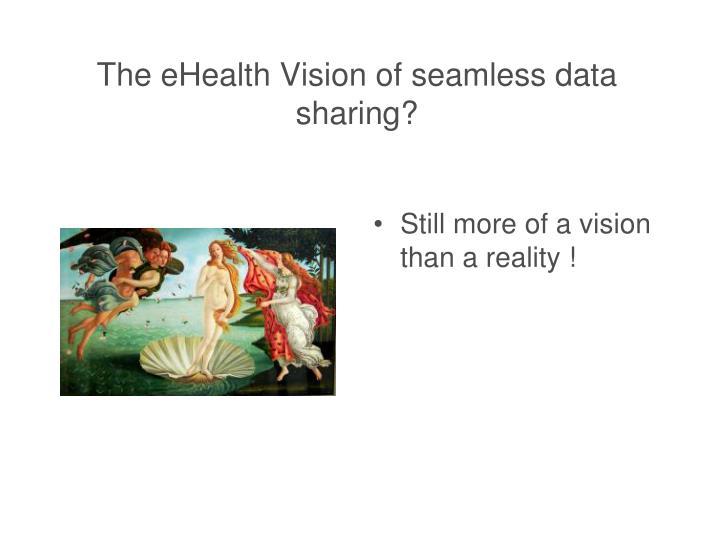 The eHealth Vision of seamless data sharing?