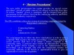 4 review procedures